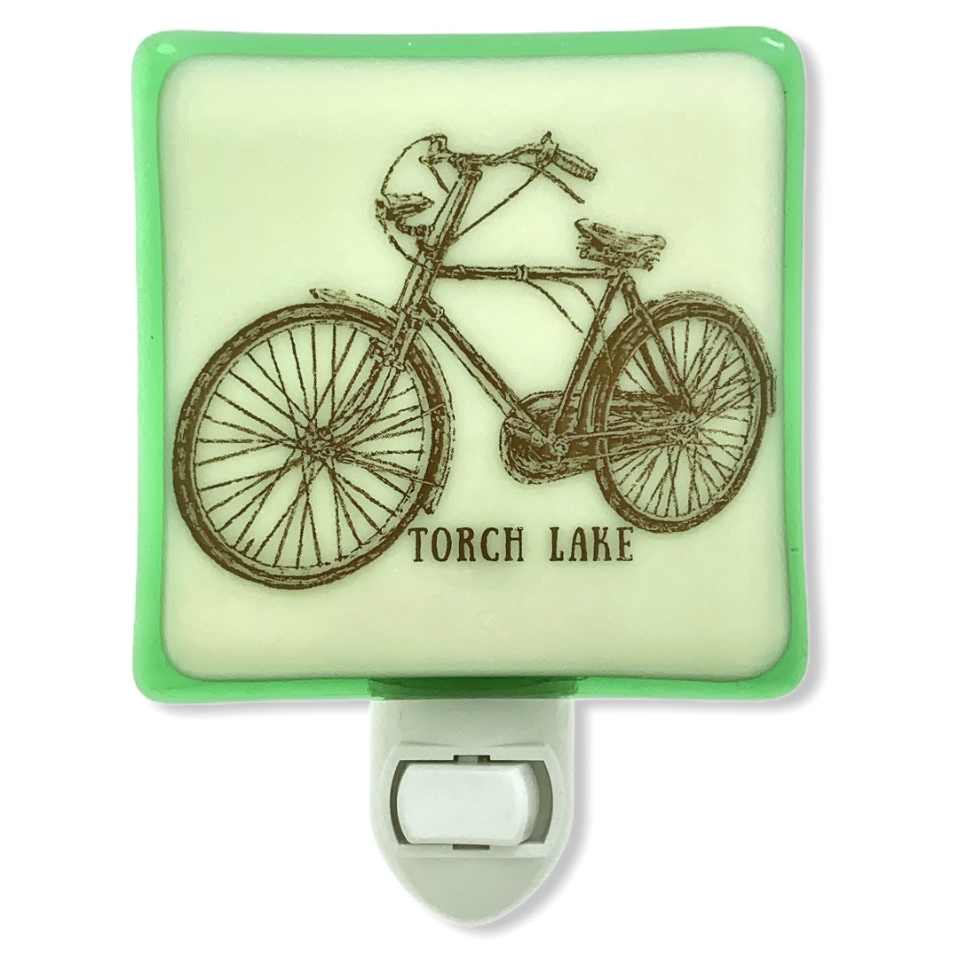 PERSONALIZED Vintage Bicycle Night Light with Name or City