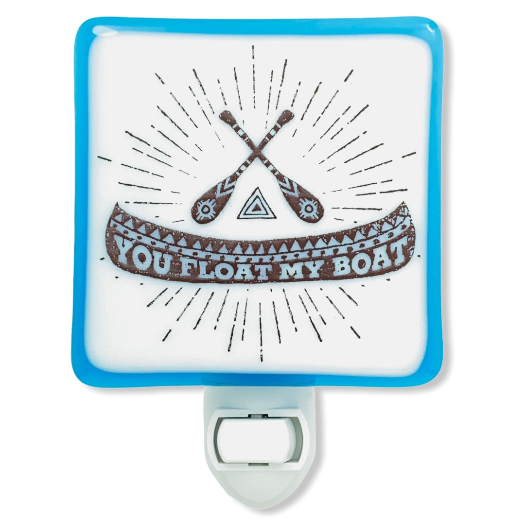 "Canoe ""You Float My Boat"" Night Light"