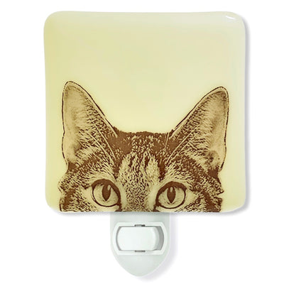 Cat Peaking Night Light