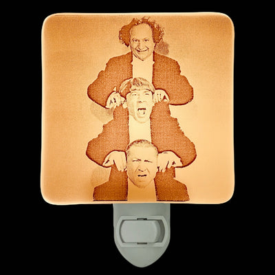 The Three Stooges Stacked Night Light