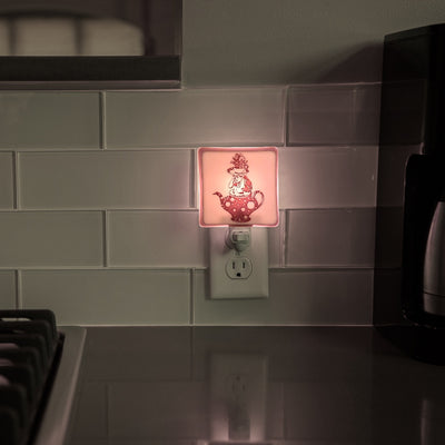 Alice in Wonderland Teapot Night Light