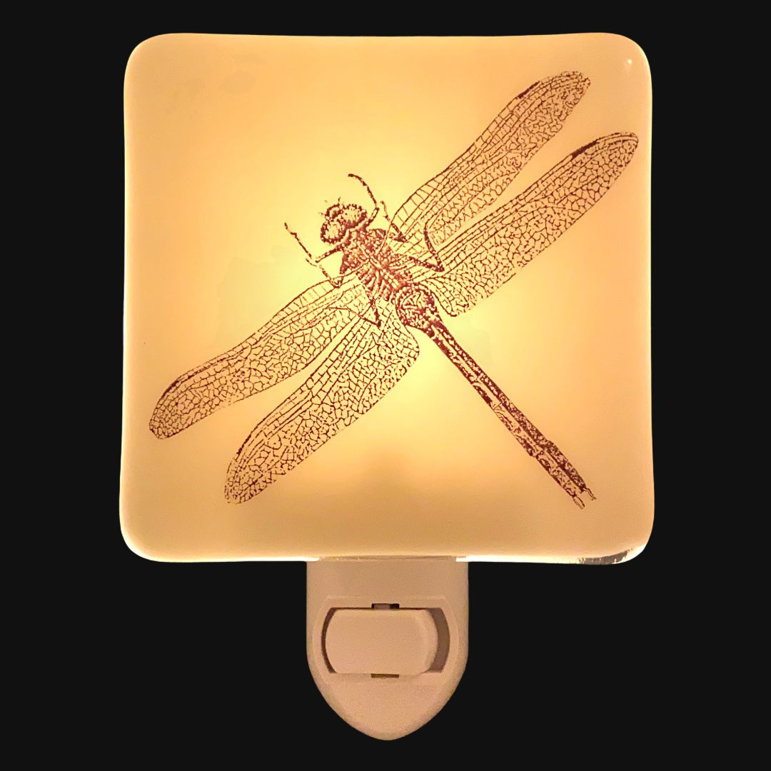 Rustic Dragonfly Night Light