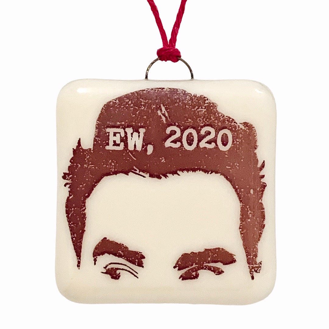 "David Rose Schitt's Creek Ornament ""EW, 2020"""