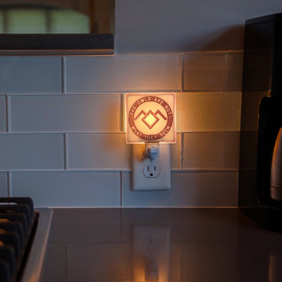 "Twin Peaks - Owl Cave Symbol ""The Owls Are Not What They Seem"" Night Light"