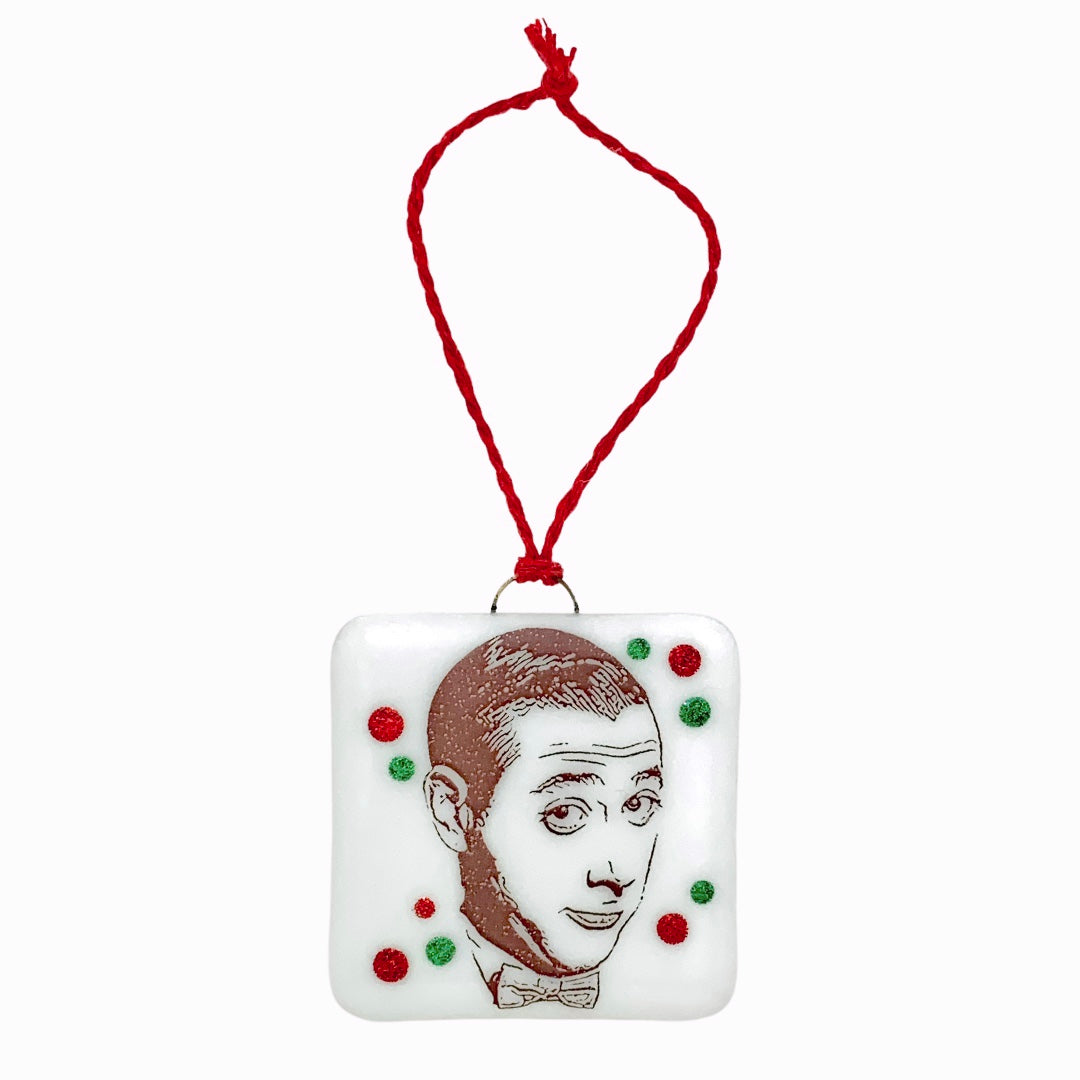 Pee Wee Herman Ornament - Hand Painted
