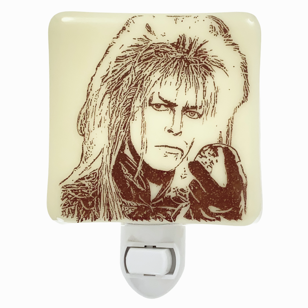 David Bowie - Labyrinth  Goblin King - Jareth Night Light