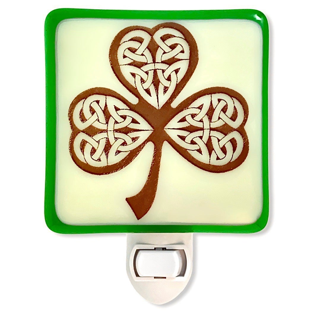Celtic Knot Shamrock Night Light