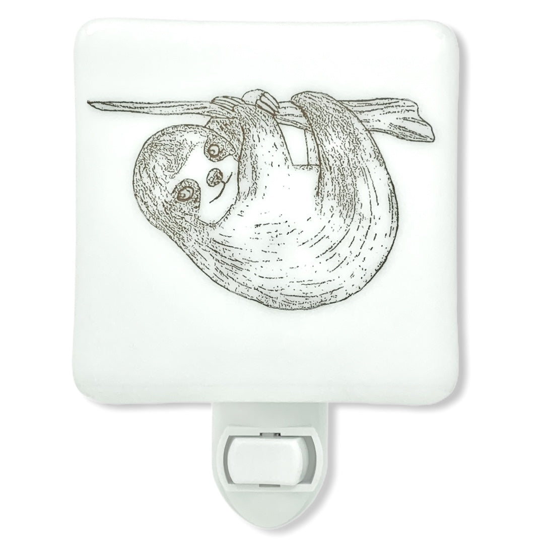 Sloth Cute Drawing Night Light