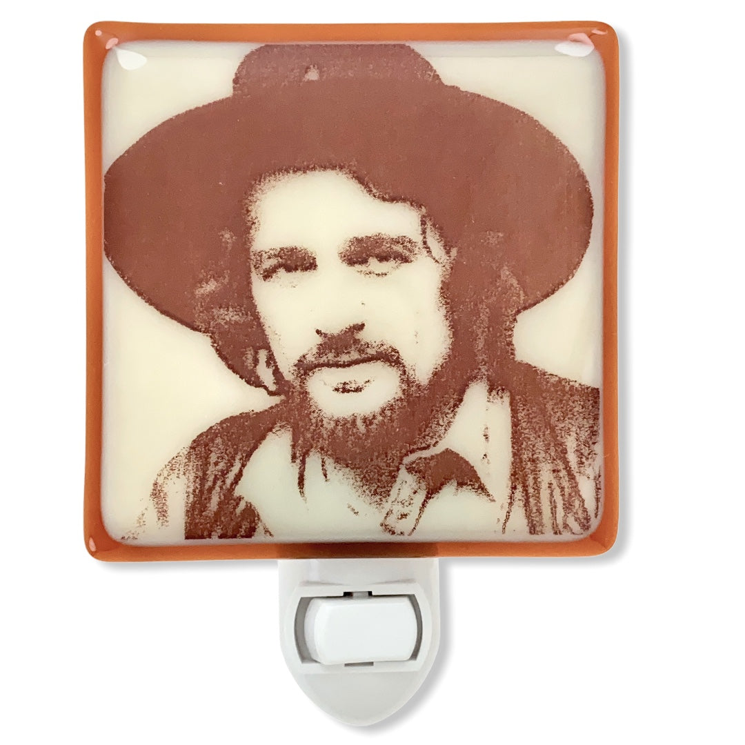 Waylon Jennings Night Light