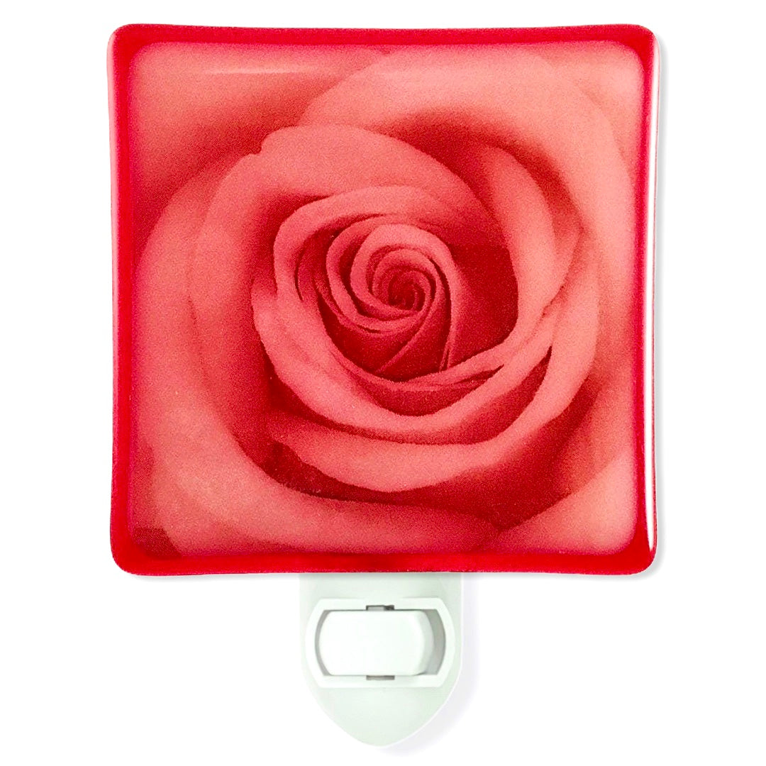 Red Rose Night Light