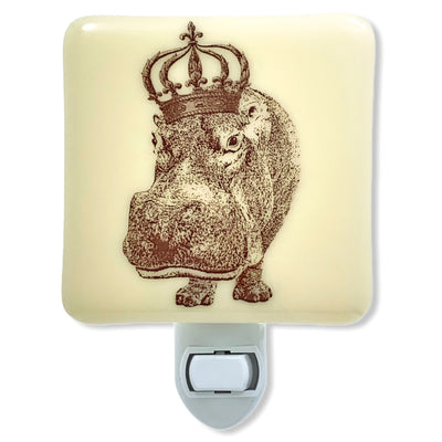 Hippopotamus with Crown Night Light