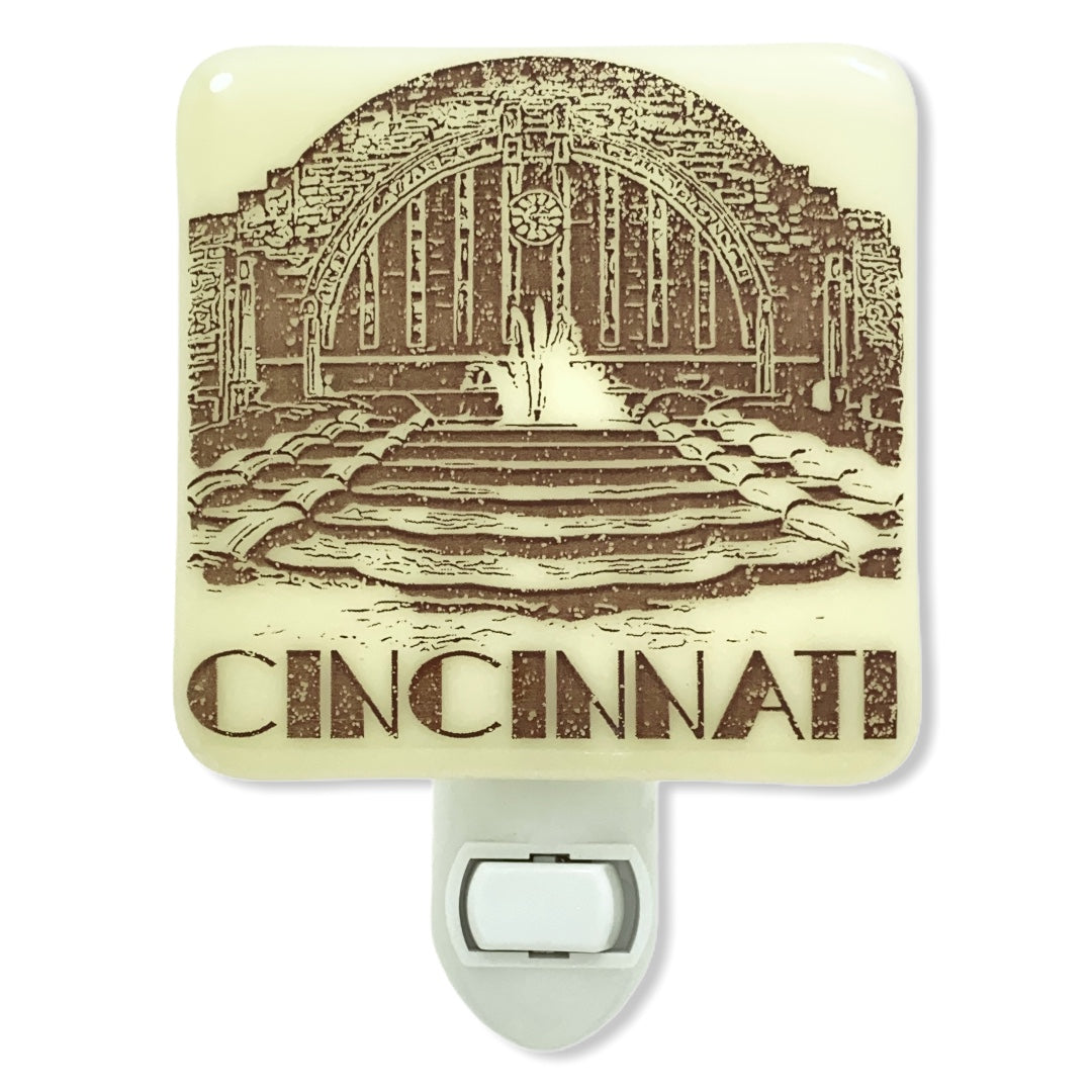 Cincinnati Ohio - Union Terminal  Night Light