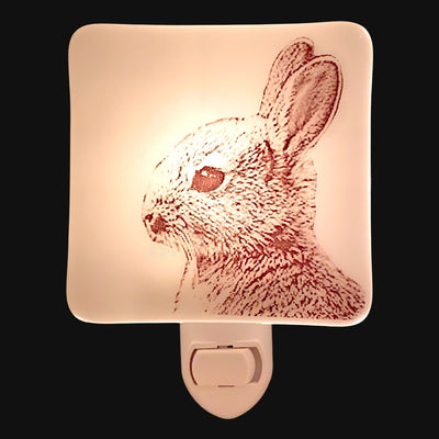 Bunny Rabbit Profile Night Light