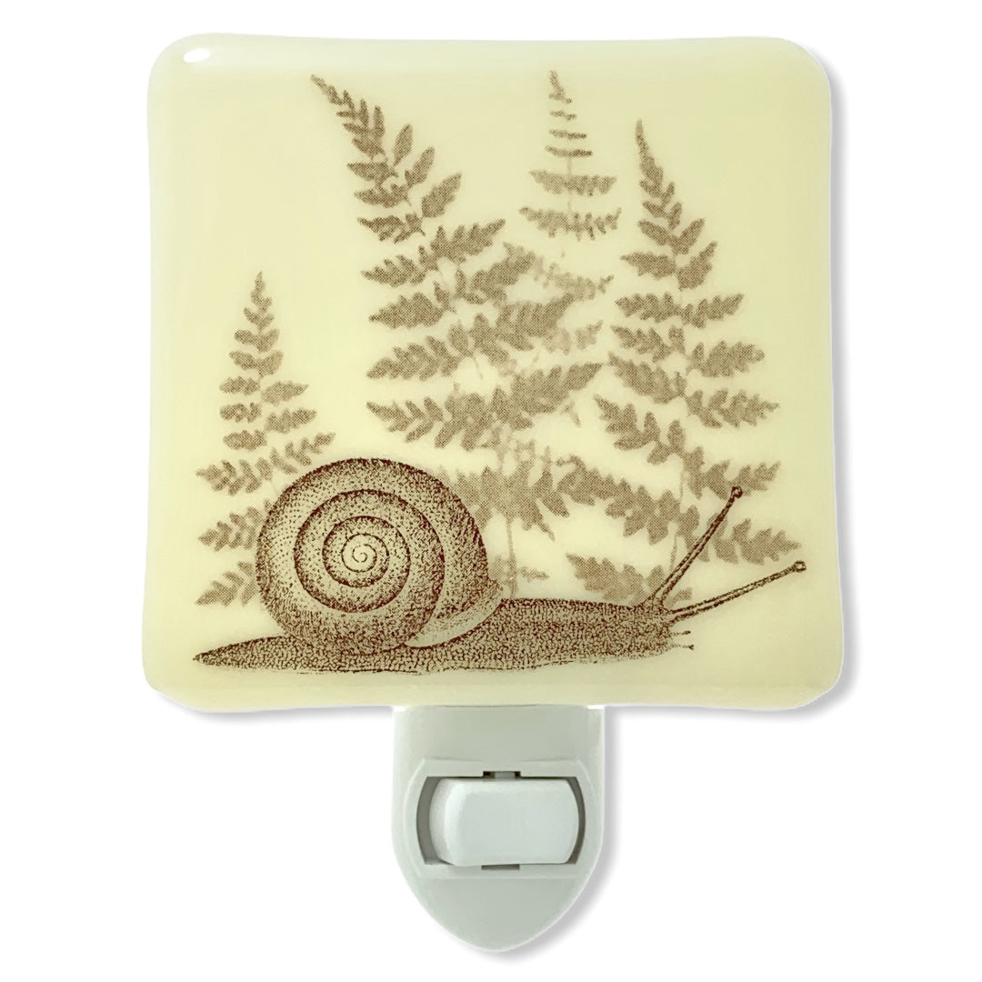 Snail and Ferns Night Light