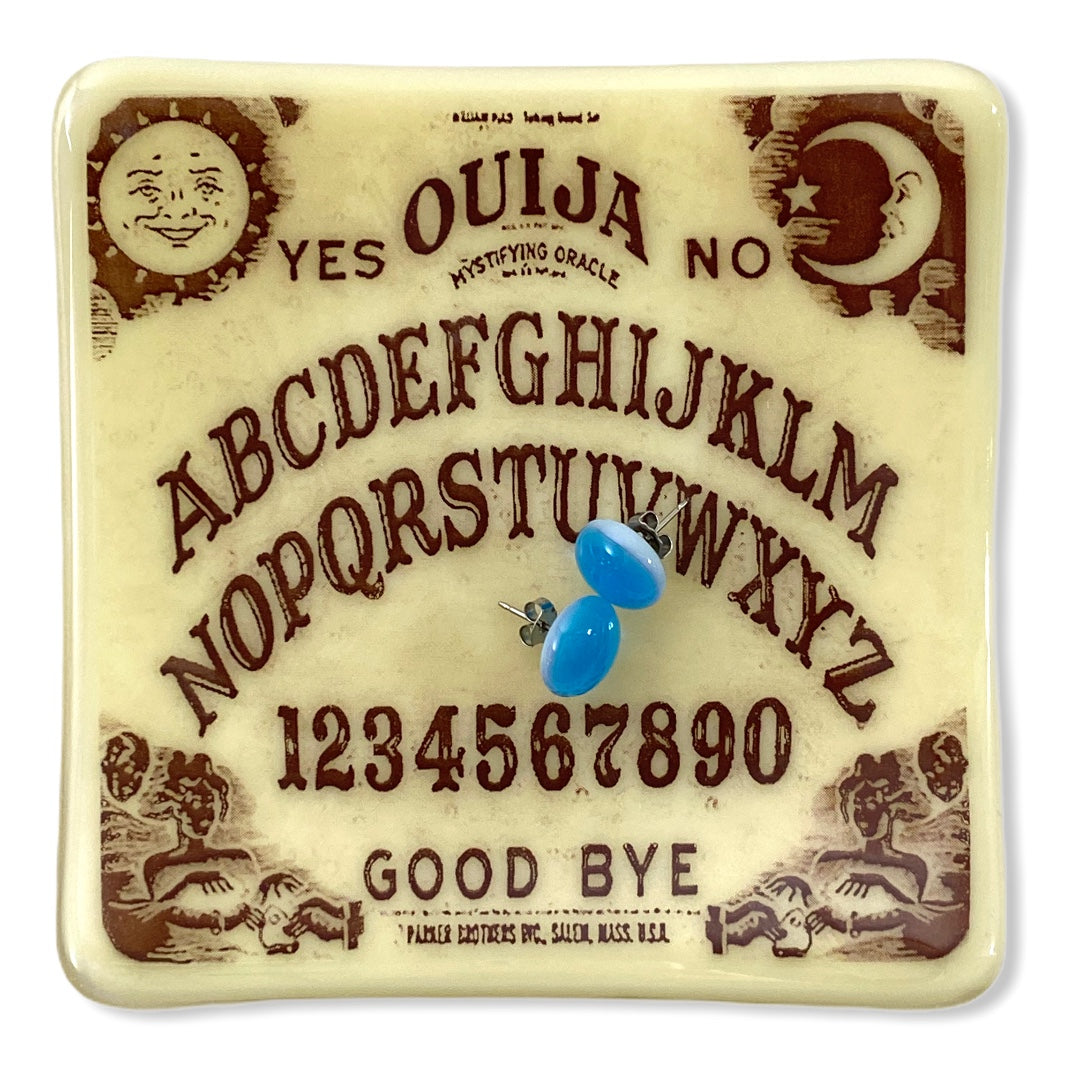 Ouija Board Dish Glass