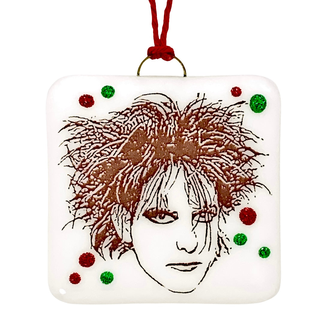 Robert Smith The Cure Ornament