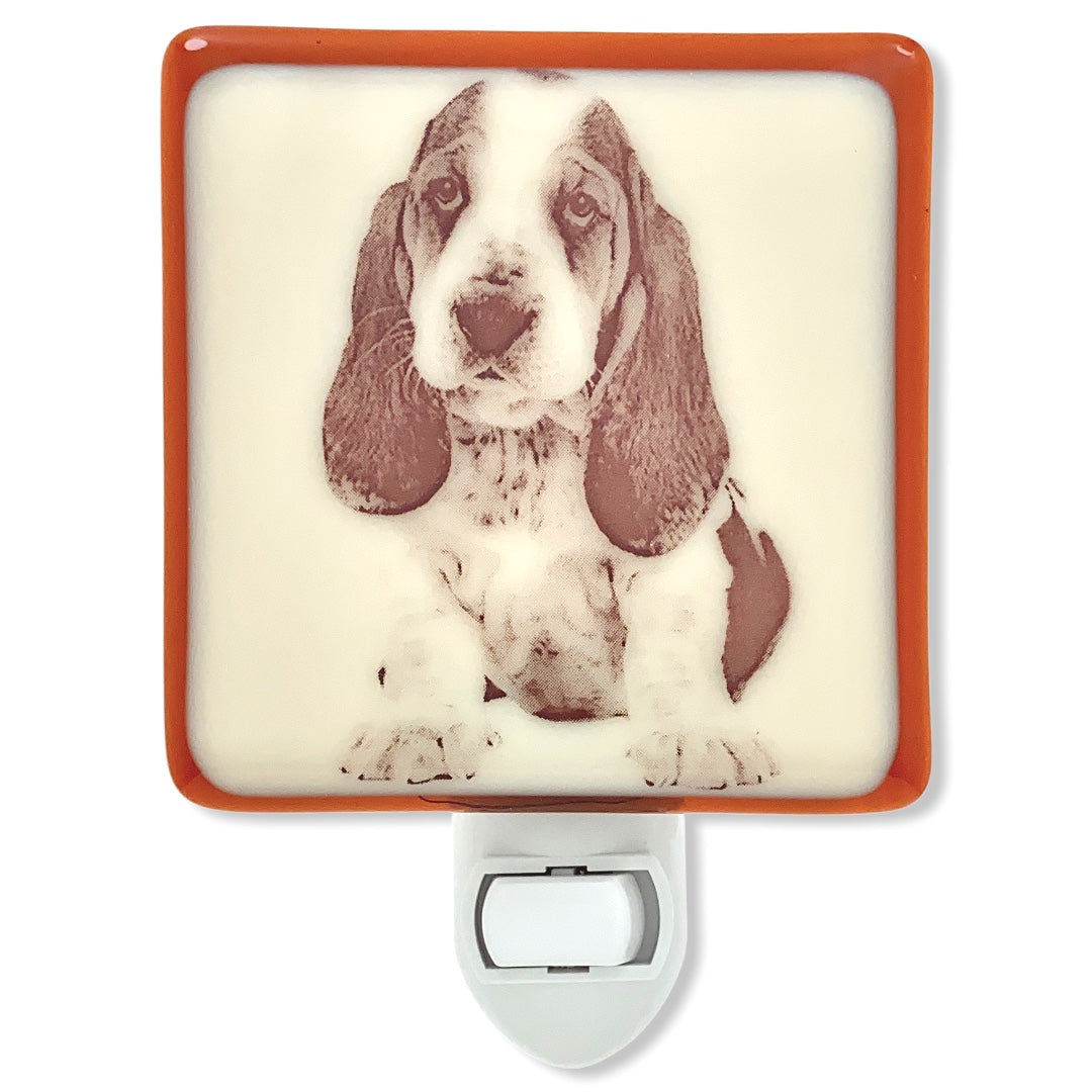 Basset Hound Dog Night Light