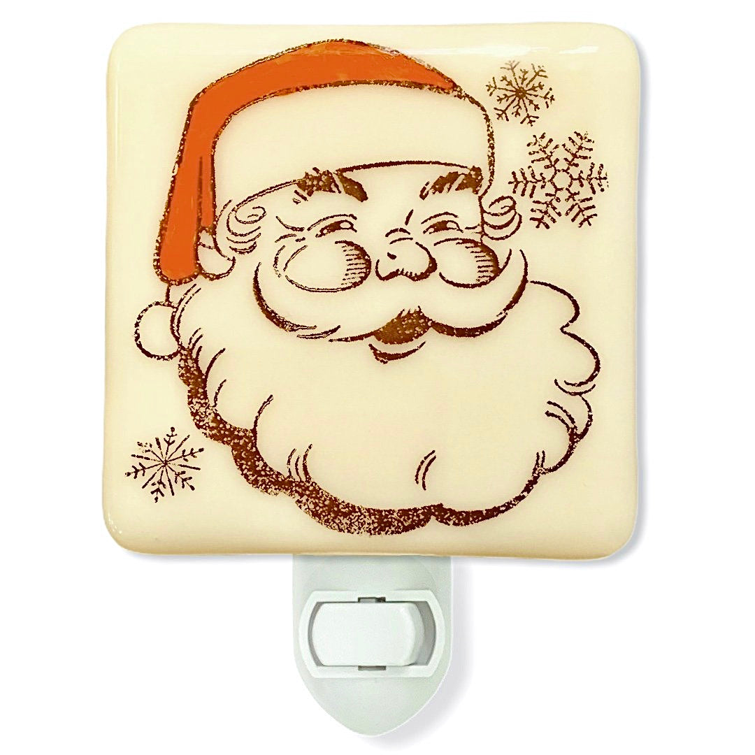 Retro Santa Claus Night Light