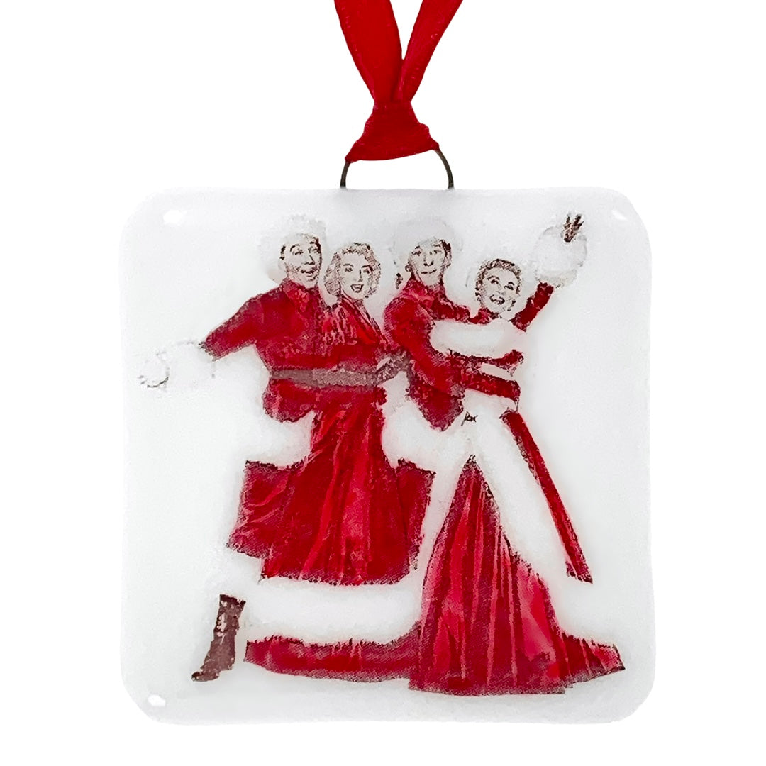 White Christmas Cast Bing Crosby Ornament - Hand Painted