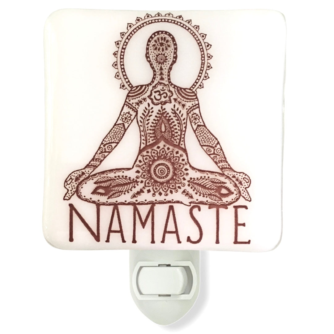 Namaste Yoga Night Light