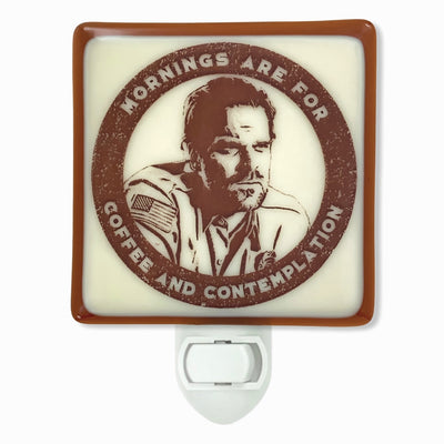 Stranger Things - Jim Hopper - Mornings Are for Coffee Night Light