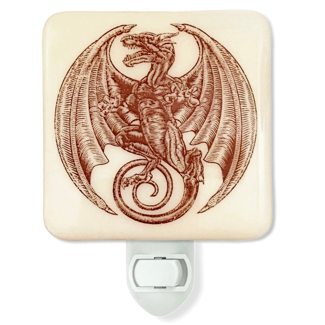 Medieval Dragon Night Light