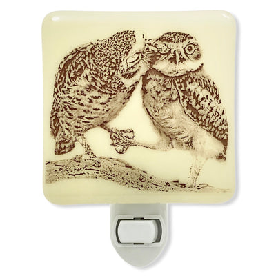 Owl Kiss Night Light