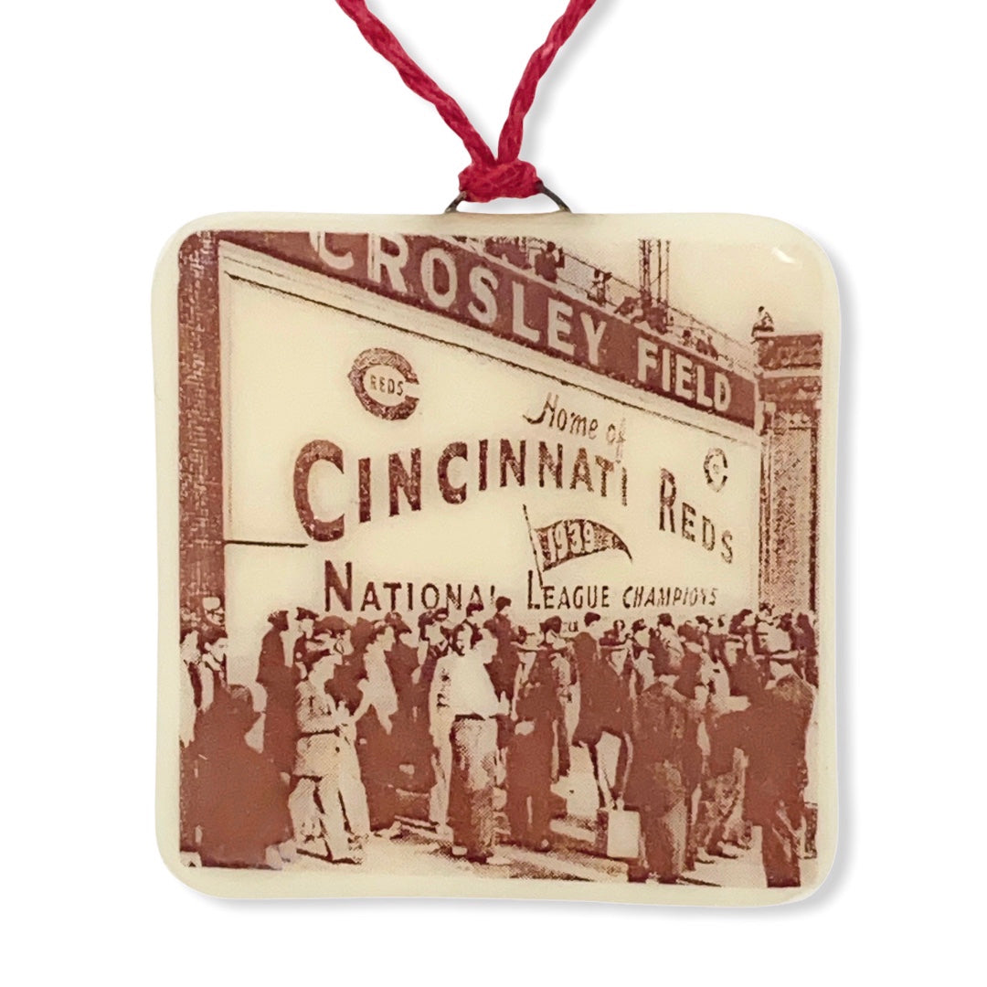 Cincinnati Reds Ornament