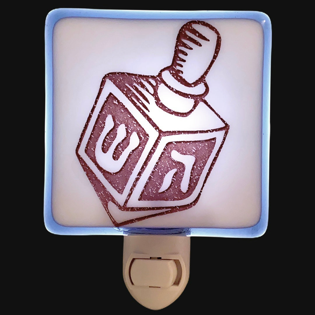 Hanukkah Dreidel Night Light