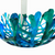 Coral Branch Bowl | Large Lagoon Mixed Color Glass