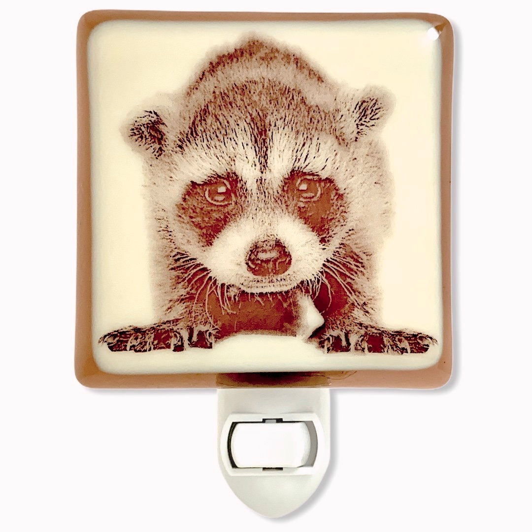 Baby Raccoon Night Light
