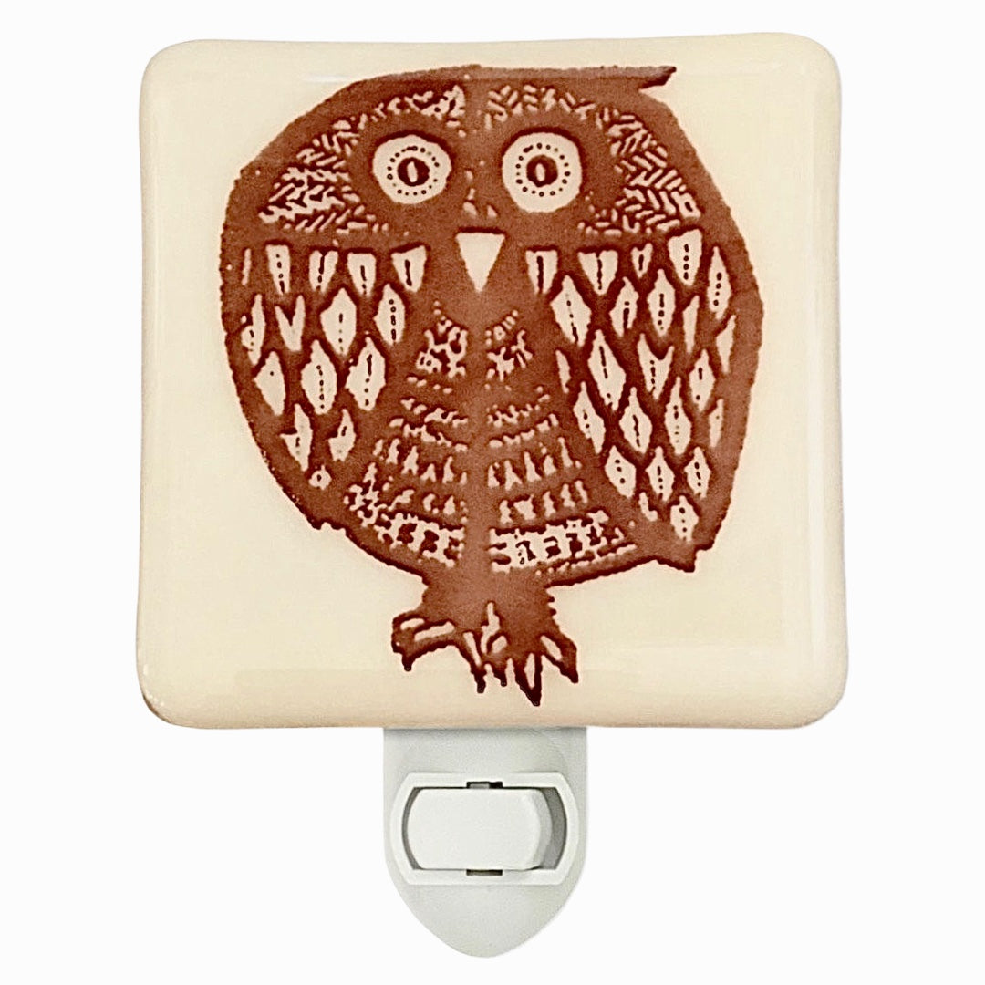 Retro Owl Night Night