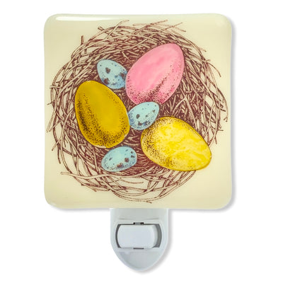 Bird's Nest with Eggs Night Light