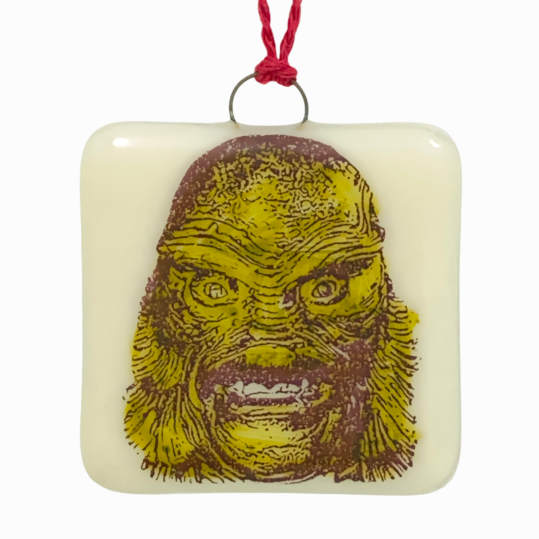 Creature from the Black Lagoon Ornament - Hand Painted