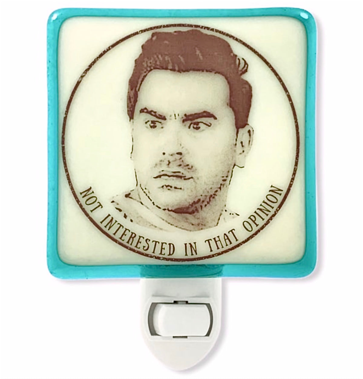 "Schitt's Creek - David Rose  ""Not Interested in That Opinion"" Night Light"