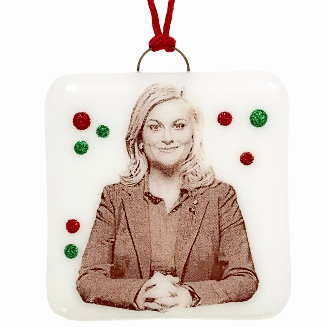 Parks and Recreation - Leslie Knope Ornament