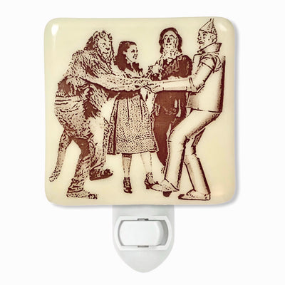 Wizard of Oz - Dorothy, Scarecrow, Tin Man and Lion Night Light