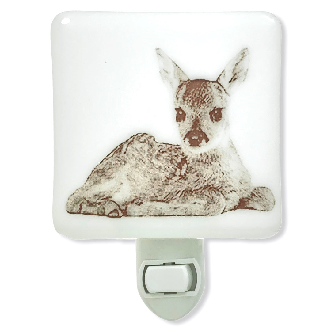 Fawn Sitting Night Light