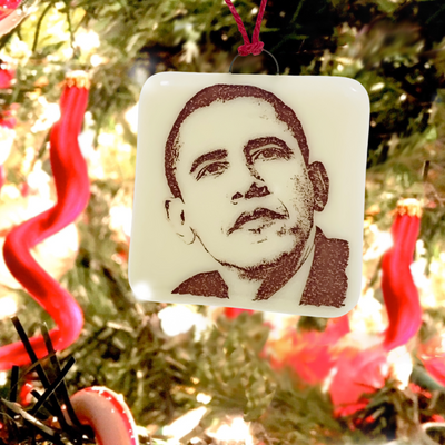 Barack Obama Ornament