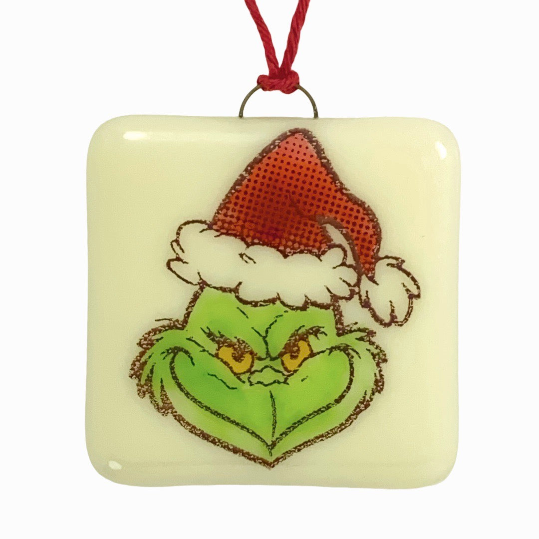 The Grinch Ornament - Hand Painted