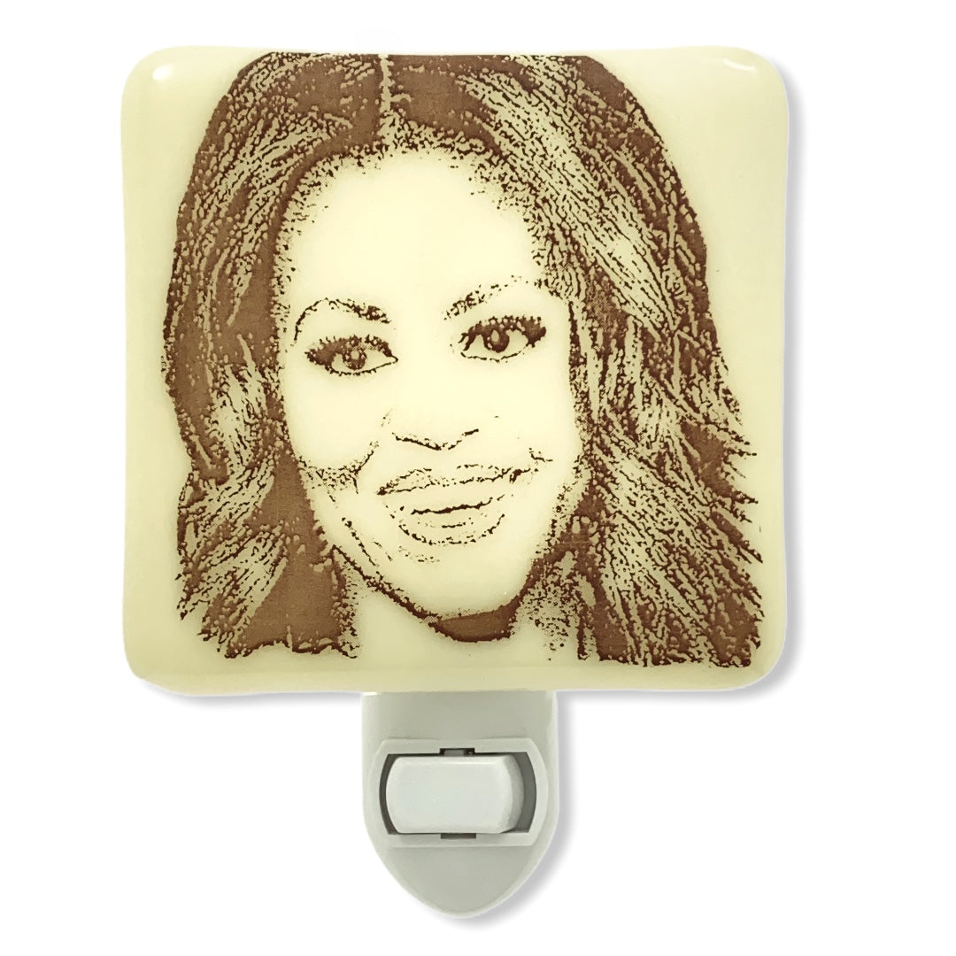 Michelle Obama Night Light