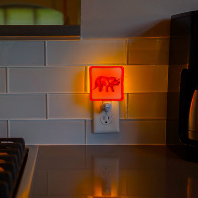 Triceratops Night Light