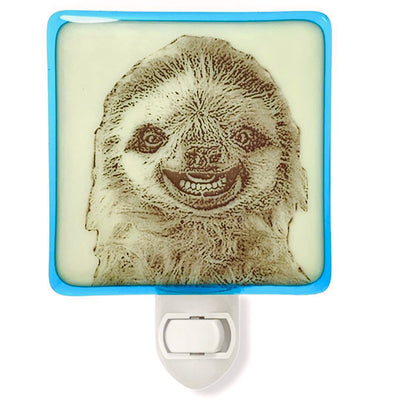 Sloth Baby Smiling Night Light