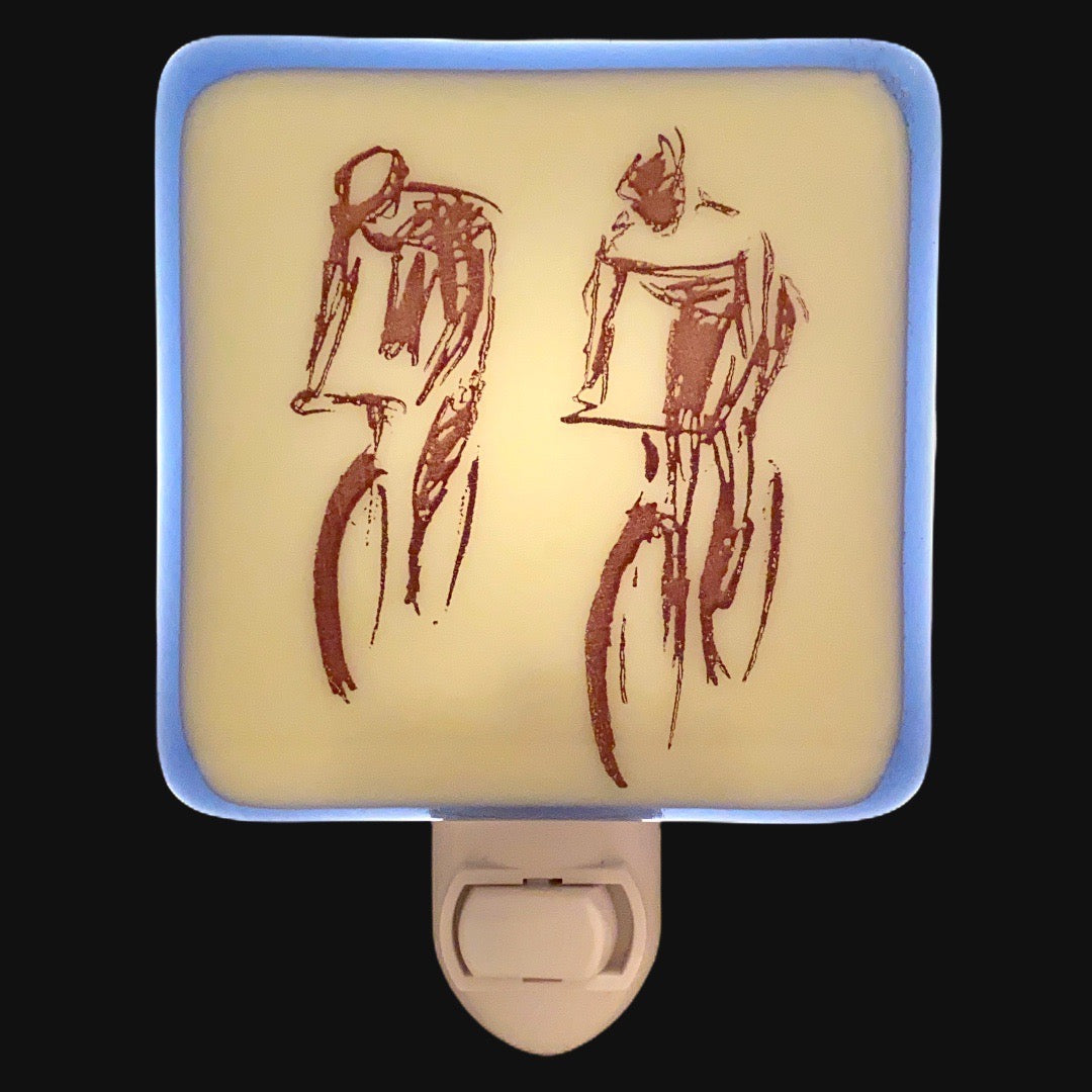 Cyclist Bicycle Night Light