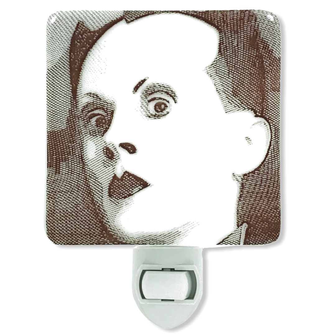 Klaus Nomi Engraved Night Light