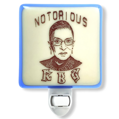 "Ruth Bader Ginsberg ""Notorious RBG"" Night Light"