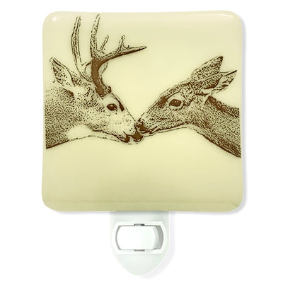 Deer Kiss Night Light