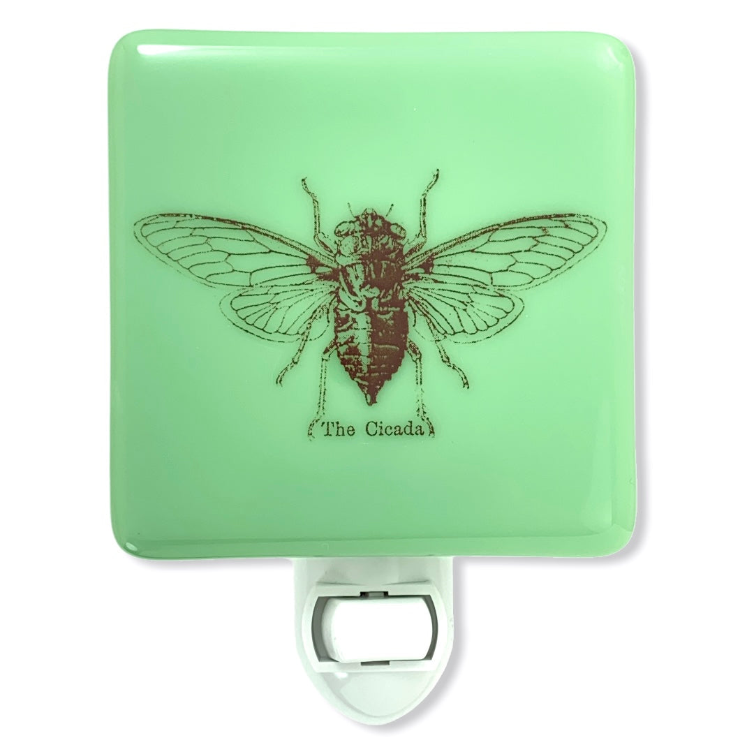 Vintage Cicada Night Light