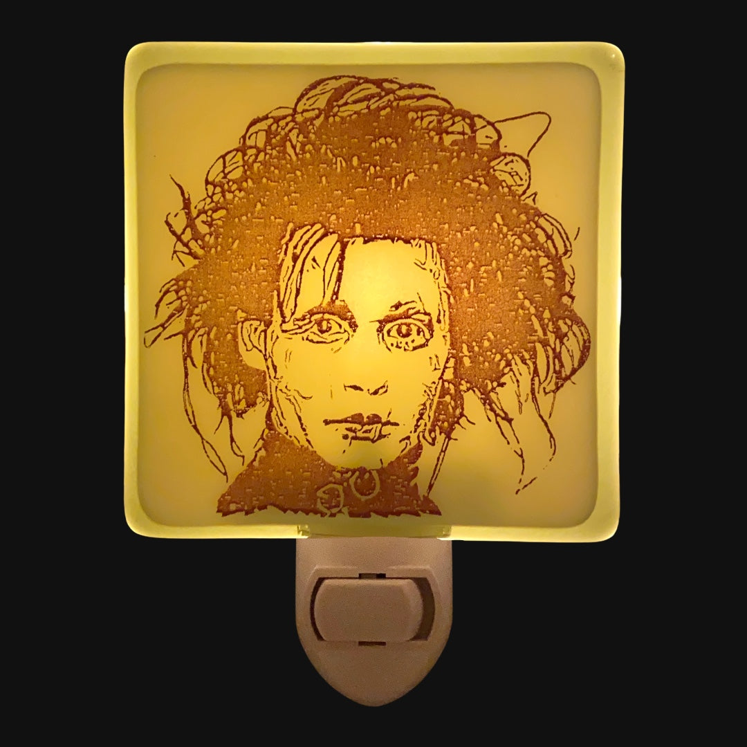 Edward Scissorhands Johnny Depp Night Light