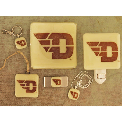 University of Dayton - Flyers Giftware - Ivory Glass